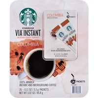 Starbucks Via Instant Colombian Coffee