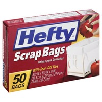 Hefty with Tear-Off Ties Scrap Bags