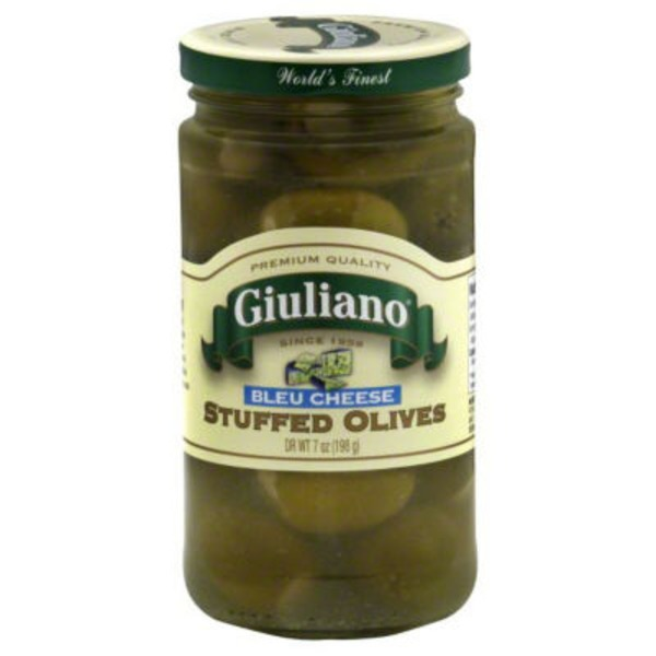 San Giualiano Blue Cheese Stuffed Olives