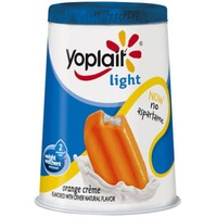 Yoplait Light Orange Creme Fat Free Yogurt