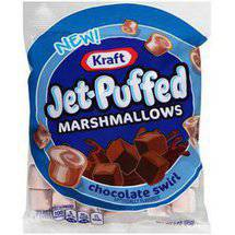 Kraft Jet-Puffed Chocolate Swirl Marshmallows
