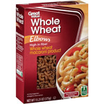 Great Value Whole Wheat Elbow Pasta