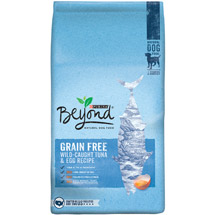 Purina Beyond Adventure Grain Free Tuna and Egg Recipe Dog Food Bag