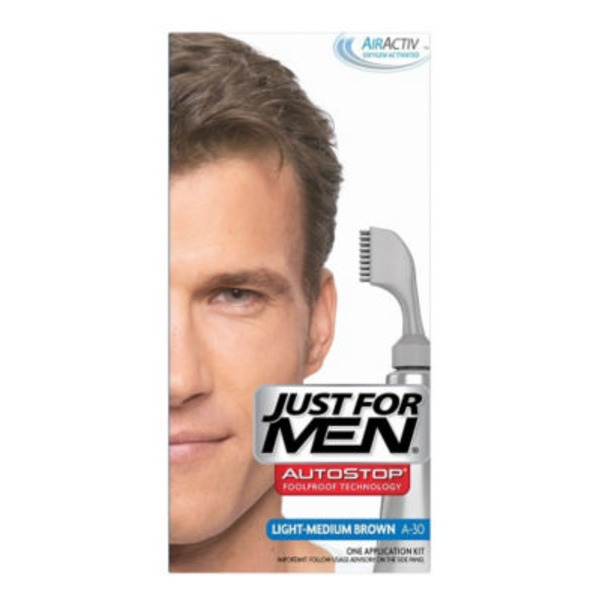Just For Men Color Application Kit Light-Medium Brown A-30
