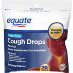 Equate Sugar Free Original Flavor Cough Drops