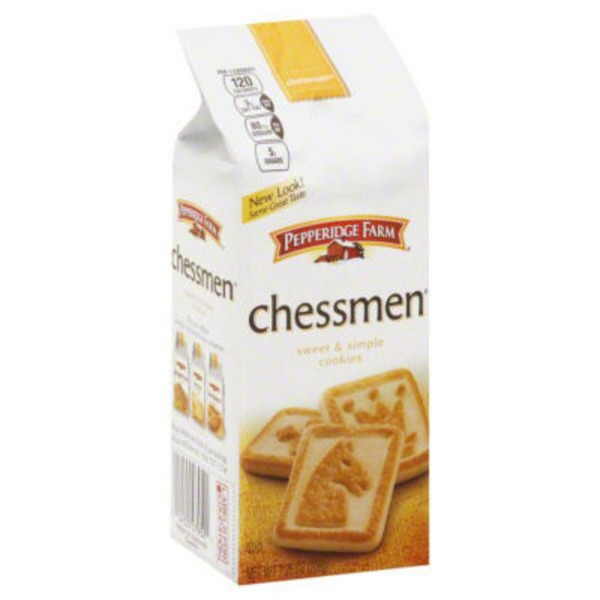 Pepperidge Farm Cookies Chessmen Sweet & Simple Butter Cookies