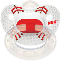 Nuk Silicone Orthodontic Pacifiers 2 ct (Design May Vary)