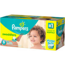 Pampers Swaddlers Diapers Size 6