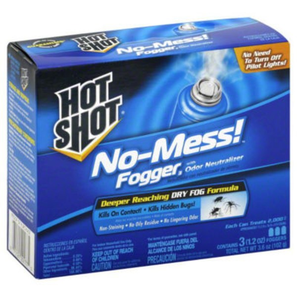 Hot Shot Fogger with Odor Neutralizer