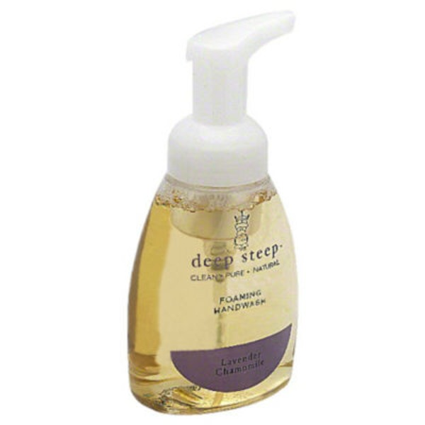 Deep Steep Foaming Hand Wash, Lavender Chamomile