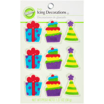 Wilton Royal Icing Decorations Birthday Party