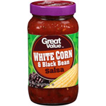 Great Value White Corn & Black Bean Salsa