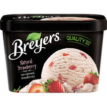 Breyers Strawberry All Natural