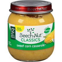 Beech Nut Sweet Corn Casserole Stage 2 Baby Food