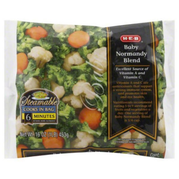 H-E-B Baby Normandy Blend Steamable Bag