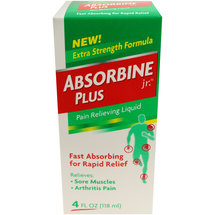 Absorbine Jr. Plus Extra Strength Pain Relieving Liquid