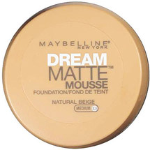 Maybelline Dream Matte Mousse Foundation NATURAL BEIGE