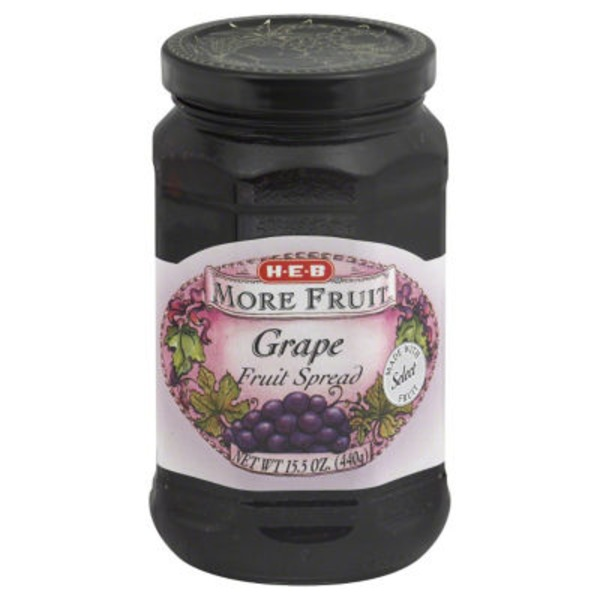 H-E-B More Fruit Grape Fruit Spread