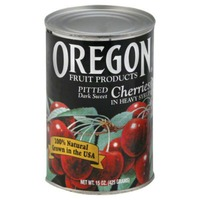 Oregon Fruit Products Pitted Dark Sweet in Heavy Syrup Cherries