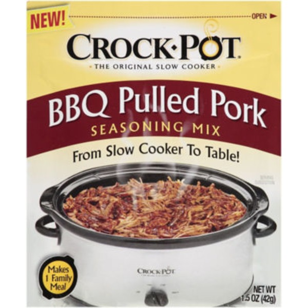 Crock Pot BBQ Pulled Pork Seasoning Mix