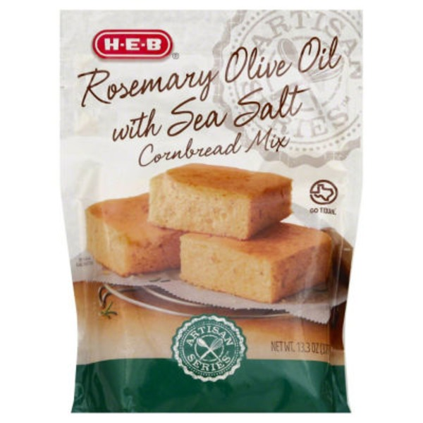 H-E-B Rosemary & Olive Oil Cornbread Mix