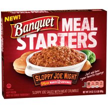 Banquet Meal Starters Sloppy Joe Night Family Size Entree