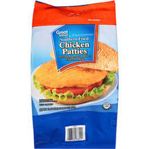 Great Value Southern Fried Chicken Breast Patties