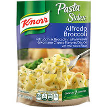 Knorr Pasta Sides Fettuccini & Broccoli In A Creamy Parmesan & Romano Cheese Sauce