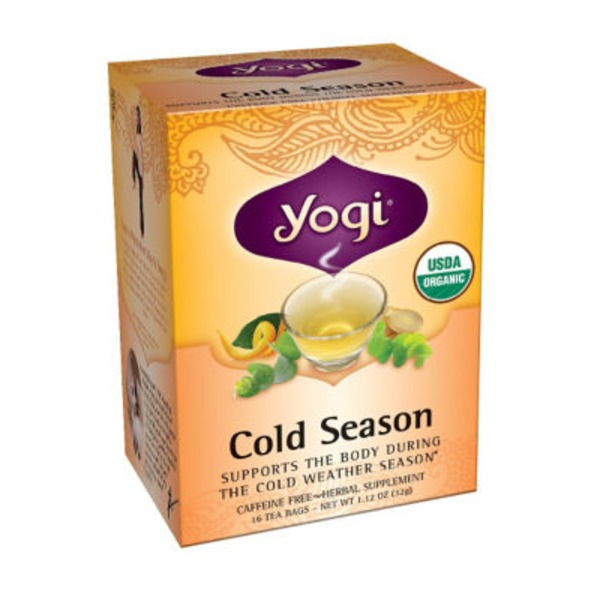 Yogi Cold Season Tea Bags - 16 CT