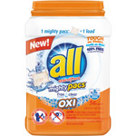 All with Stainlifters Oxi Free Clear Mighty Pacs Super Concentrated Laundry Detergent