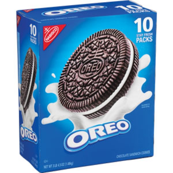 Nabisco Oreo Chocolate Club Pack Sandwich Cookies