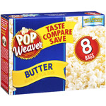 Pop Weaver Butter Microwave Popcorn