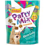 Purina Friskies Party Mix Meow Luau Crunch Cat Treats