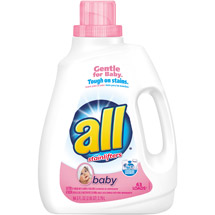 All with Stainlifters Baby Liquid Laundry Detergent