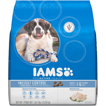 Iams ProActive Health Adult Weight Control Large Breed Premium Dog Food