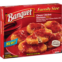 Banquet Family Size Cheesy Chicken Marinara