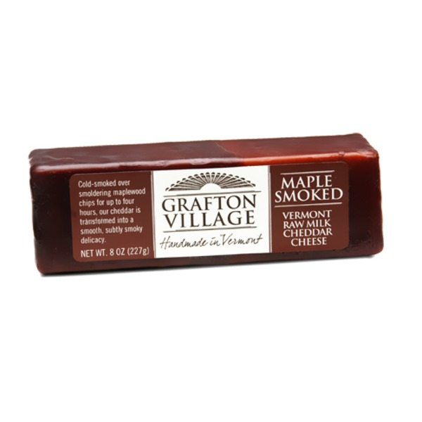 Grafton Village Raw Milk Cheddar Cheese