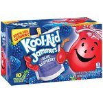 Kool-Aid Jammers Blue Raspberry Flavored Drinks