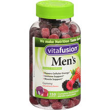 Vitafusion Men's Complete Multivitamin Dietary Supplement Gummies