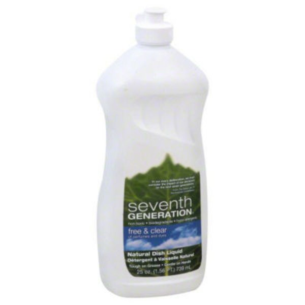 Seventh Generation Natural Free & Clear Dish Liquid