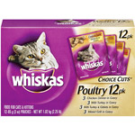 Whiskas Poultry Choice Cuts Cat/Kitten Food