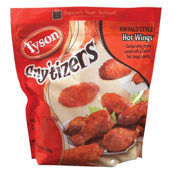 Any'tizers Buffalo Style Hot Wings