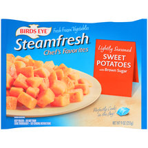 Birds Eye Steamfresh Chef's Favorites Lightly Seasoned Sweet Potatoes with Brown Sugar