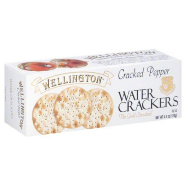 Wellington Water Crackers Cracked Pepper