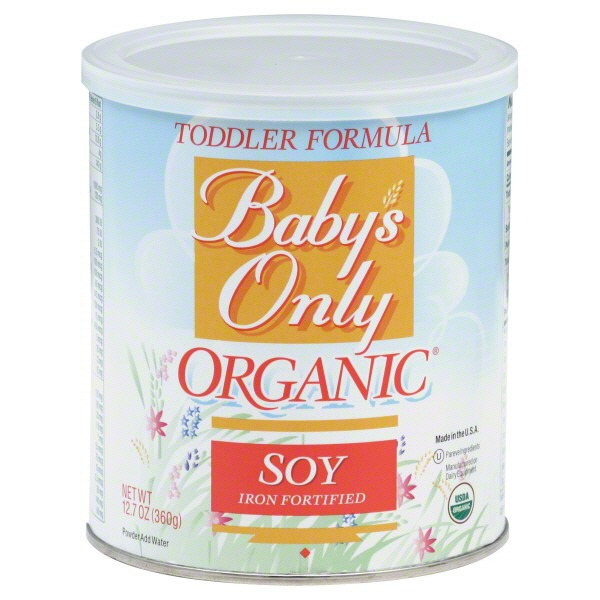 Baby's Only Organic Soy Iron Fortified Toddler Formula