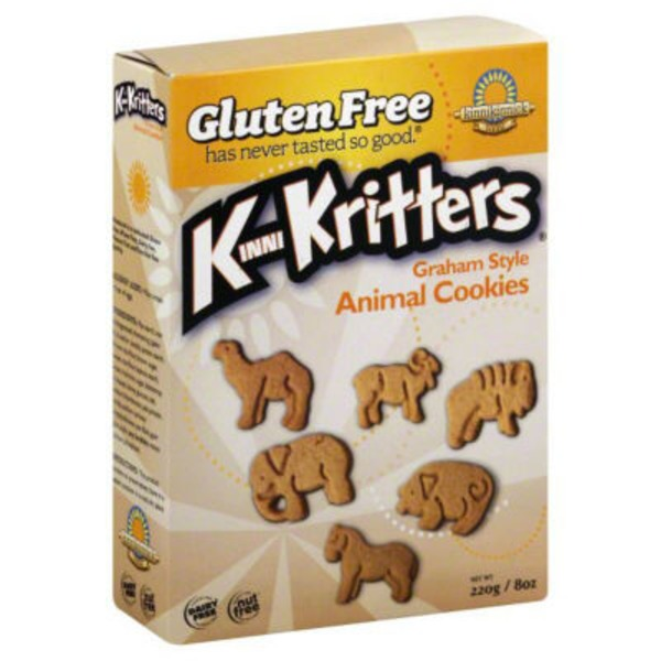 Kinnikinnick Foods K-Kritters Graham Animal Cookies