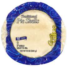 Great Value: Traditional Pie Shells