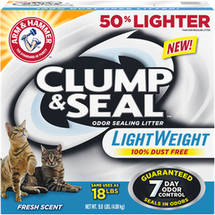 Arm & Hammer Clump & Seal Fresh Scent Litter