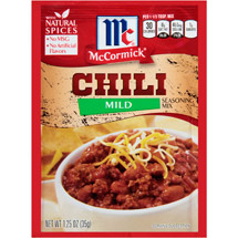 McCormick Mild Chili Seasoning Mix