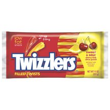 Twizzlers Sweet & Sour Cherry Kick Citrus Punch Candy